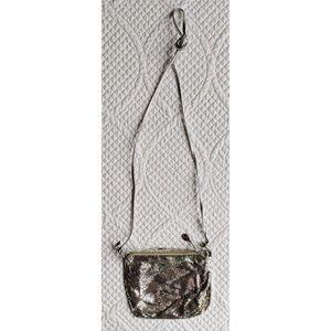 Whiting & Davis Silver Chain Mail Mesh Purse Bag